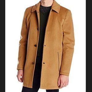 Vince Camuto Men's Storm System Melton Pea Coat